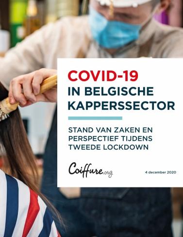 Enquête Covid-19 in belgische kapperssector  cover photo